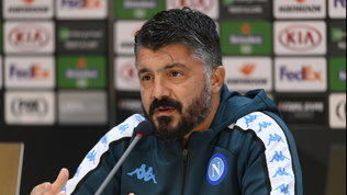 """Gattuso: """"Primo obiettivo stagionale. Rinnovo?Facitv e cazz vuost..."""""""