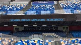 Lo stadio Maradona è già realtà: il nome è nell'impianto
