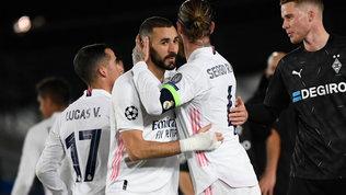 Il Real Madrid vince e passa con il M'Gladbach. Avanti anche l'Atletico