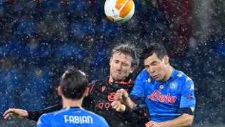 Napoli-Real Sociedad, le immagini dallo stadio Maradona