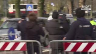 Pablito, l'arrivo del feretro a Vicenza