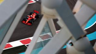 """Leclerc: """"Soddisfatto del lavoro"""". Vettel  rimanda  la sua Ferrari"""