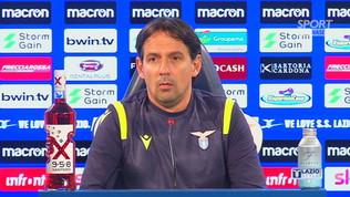 """Inzaghi: """"Immobile un po' affaticato: è da valutare"""""""