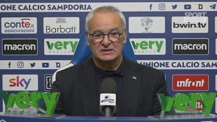 """Sampdoria, Ranieri: """"Dobbiamo fare una gara volitiva"""""""