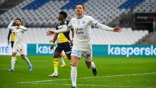Il Marsiglia piegail Monaco e si porta a -1dal Psg  Colpo Montpellier