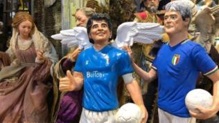 Maradona e Paolo Rossi diventano statuette grazie a Di Virgilio