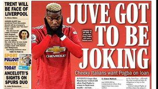 Dall'Inghilterra: la Juve vuole Pogba in prestito nel mercato di gennaio