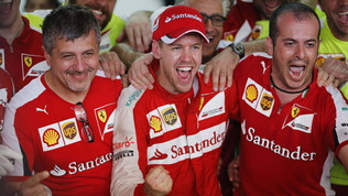 Vettel-Ferrari, una storia d'amore e successi mancati