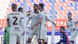 Bologna-Roma: la fotogallery del match
