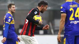 Hernani, Kurtic e 4 legni frenano il Milan: Theo rimonta il Parma al 91'
