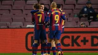 La Real Sociedad manca il sorpasso. Il Barça si rialza con Messi