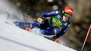 Brignone splendida seconda, alla Shiffrin il secondo gigante di Courchevel. Bassino out