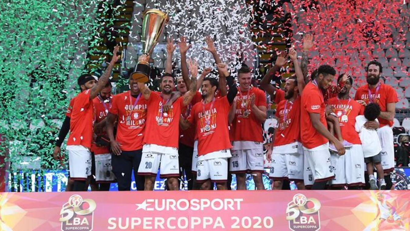 Basket, Supercoppa italiana: Olimpia Milano