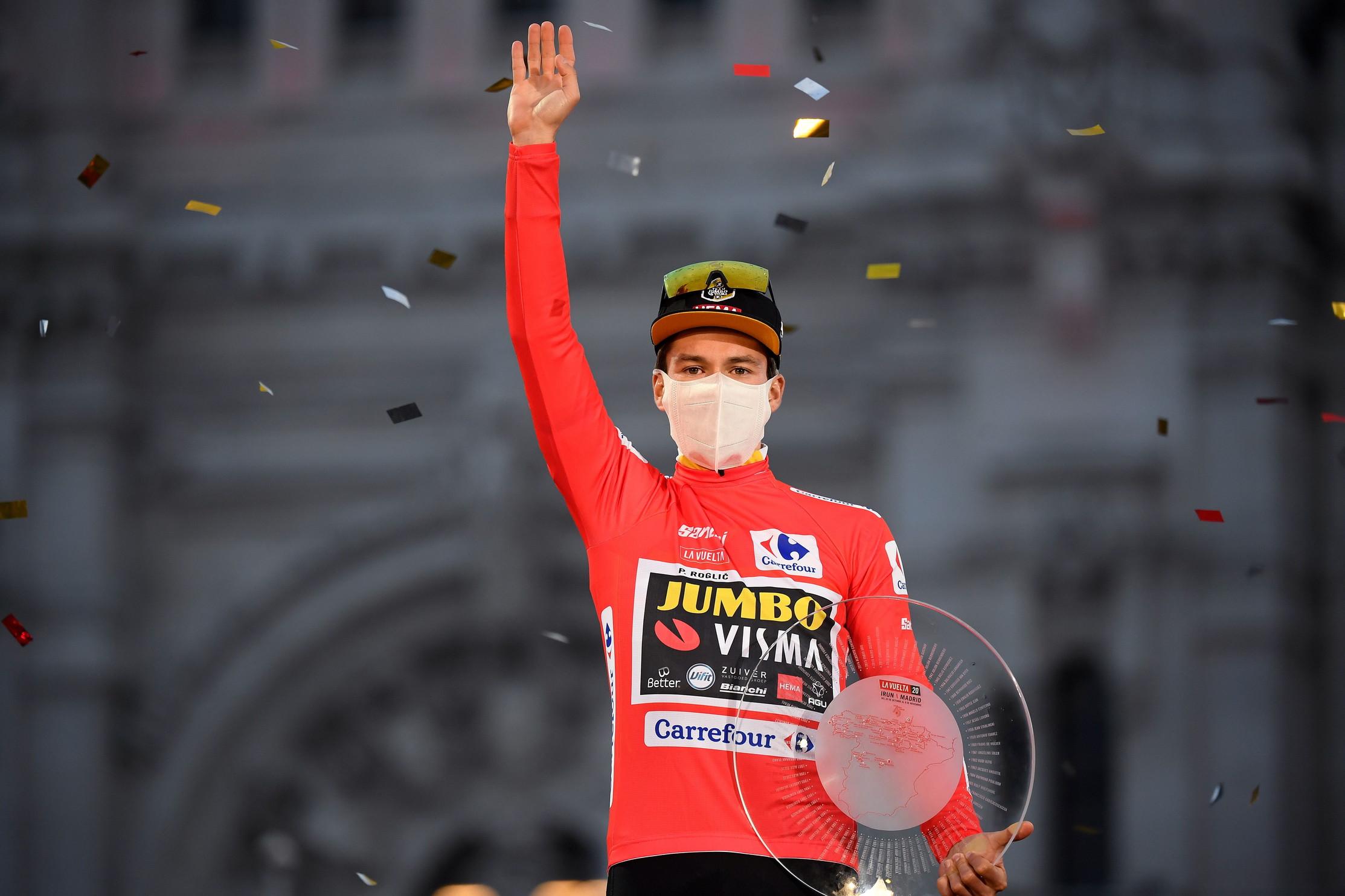 Ciclismo, Vuelta: Roglic