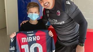 Incontro con Miha dopo la lucemia: il sogno di Mirko è realtà