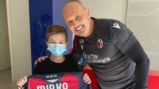 Incontro con Miha dopo la leucemia: il sogno di Mirko è realtà