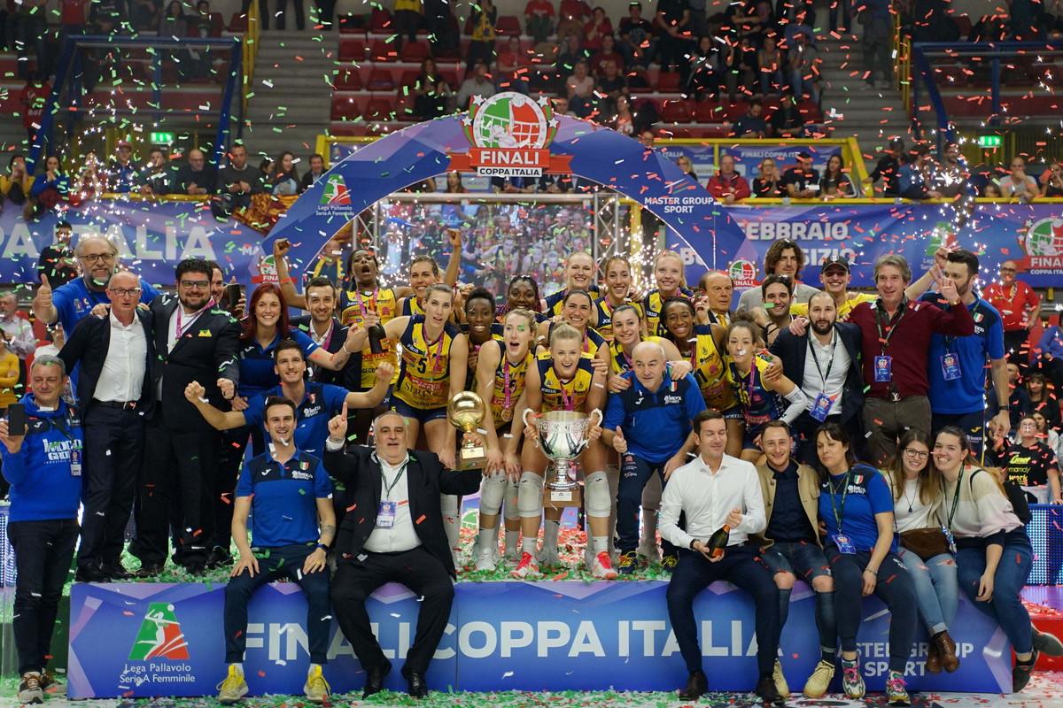 Volley, Coppa Italia donne: Conegliano