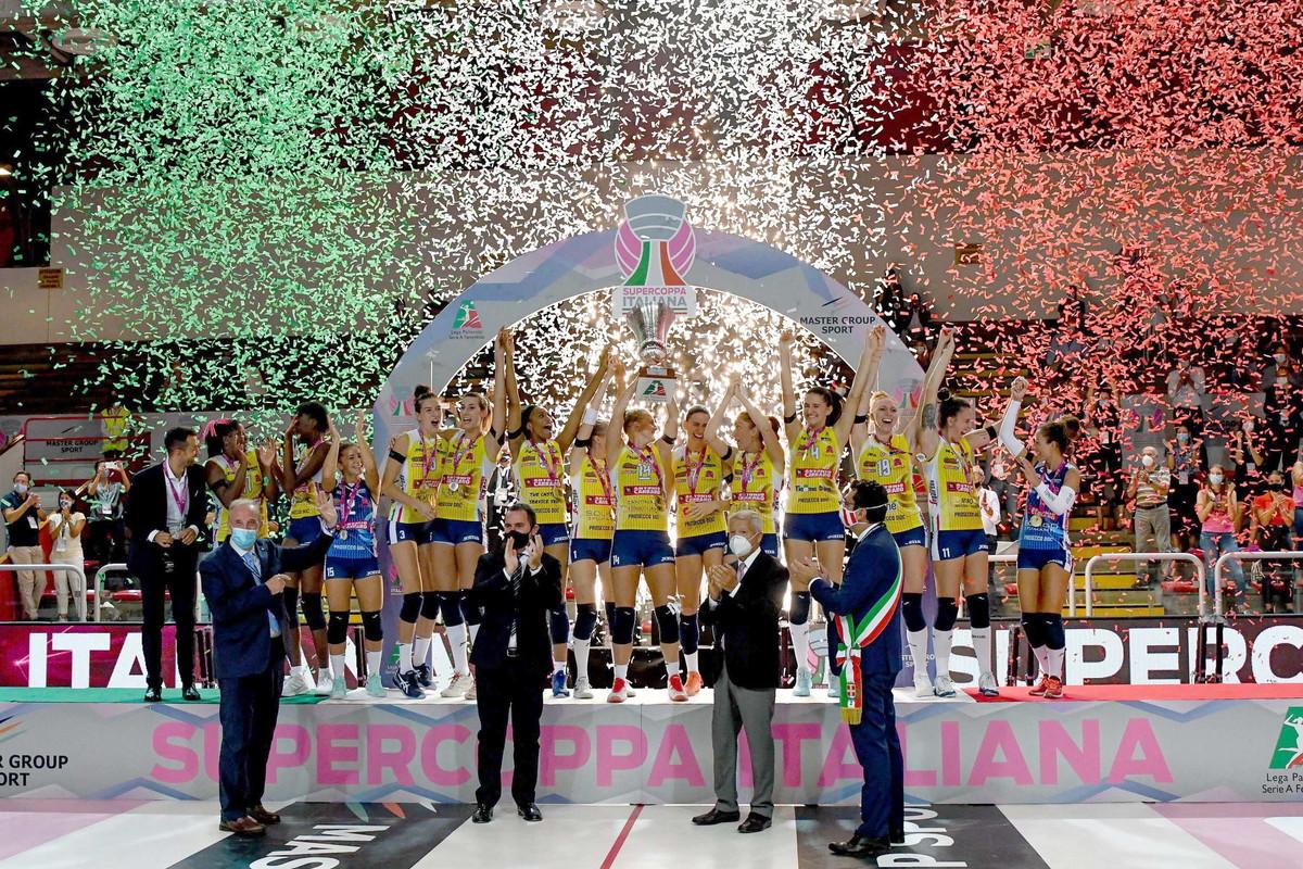 Volley, supercoppa italiana donne: Conegliano