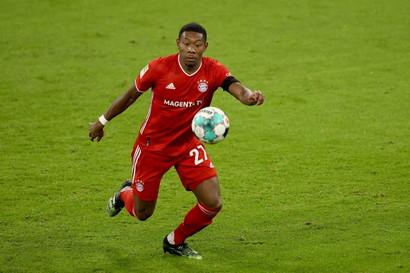 DAVID ALABA (Bayern Monaco, 28 anni, 65 milioni)