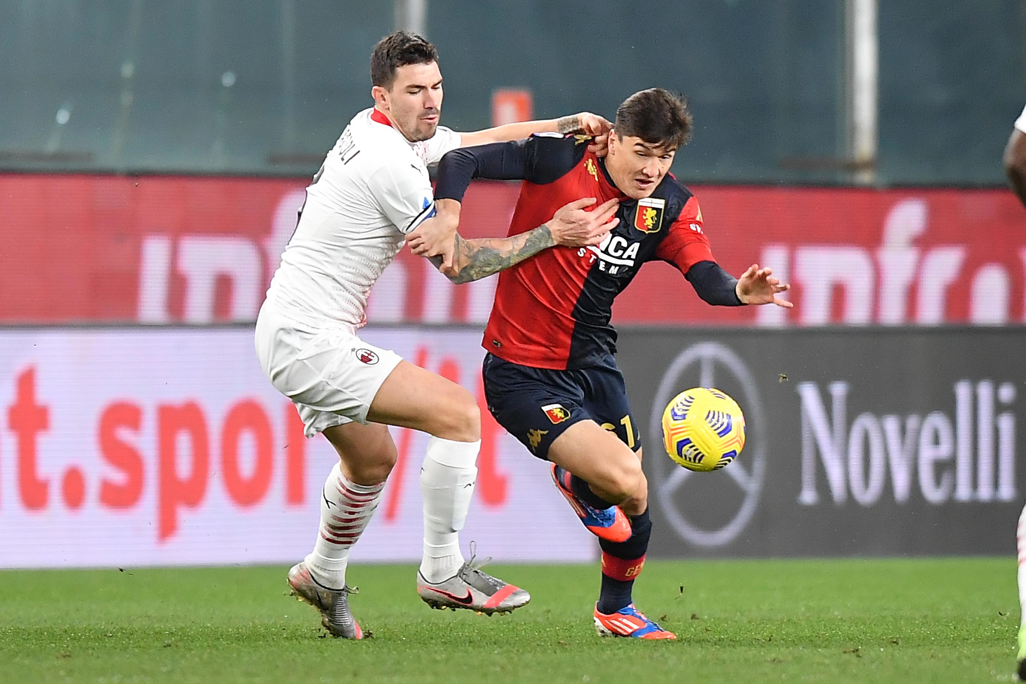 Genoa-Milan 2-2, le migliori foto del match<br /><br />