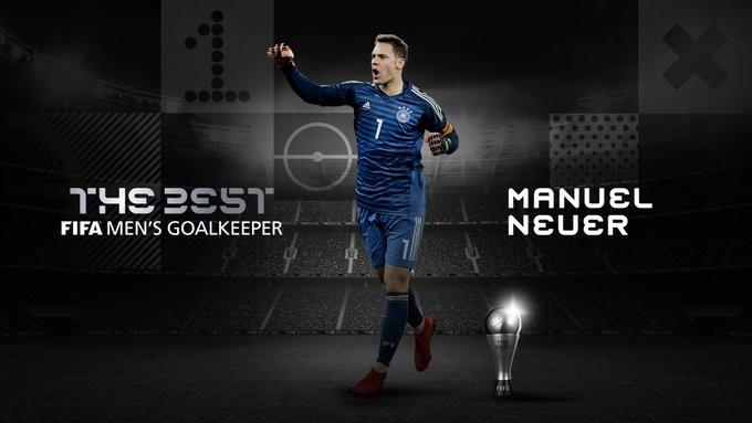 Miglior portiere: Neuer (Bayern Monaco)