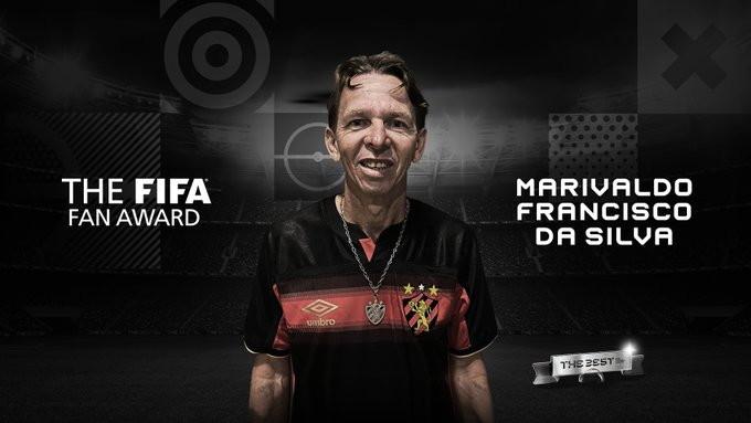 Miglior fan: Marivaldo Francisco da Silva (Brasile)