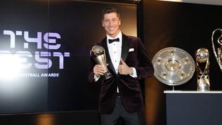 Lewandowski batte CR7 e Messi: è lui il The Best Fifa del 2020