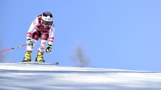 Paura Schmidhofer: esce a 100 km/h nella discesa in Val d'Isere