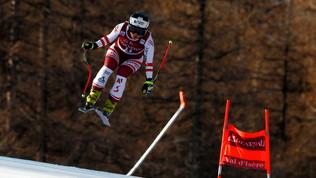 Schmidhofer fuori a 100 km/h nella discesa libera in Val d'Isere