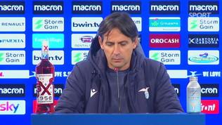 """Inzaghi: """"Non ci sono problemi tra me e Lotito. Ora nuovo inizio"""""""