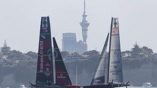 America's Cup: Christmas Race annullata per mancanza di vento