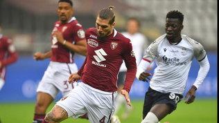 Verdi-Soriano: Torino-Bologna è pari