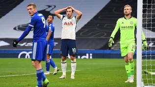 Il Leicester affonda Mourinho, 2-0 al Tottenham. United scatenato