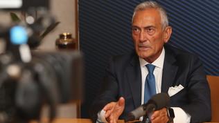 """Gravina: """"Spero nel ritorno dei tifosi allo stadio a partire da gennaio"""""""