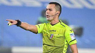 Di Bello arbitra Milan-Lazio, Juve-Fiorentina a La Penna