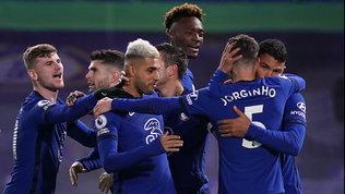 Il Chelsea liquida il West Ham con un tris ed esce dalla crisi