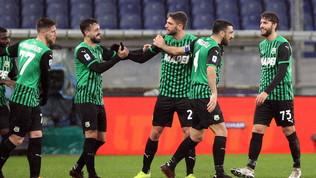 Il Sassuolo batte la Samp, il Benevento passa a Udine, al Genoa il derby con lo Spezia