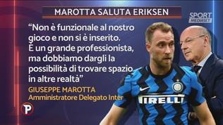 """""""Eriksen non è funzionale"""", addio Inter"""