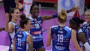 """Novara vince il """"Classico"""", troppa Conegliano per la UYBA"""
