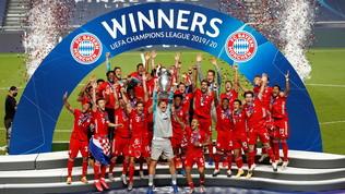 2020 addio: è stato l'anno del Bayern, Lewandowski da Pallone d'Oro