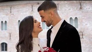 Spinazzola sposa la sua Miriam alla vigilia di Natale