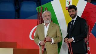 Agnelli-De Laurentiis: si è parlato anche di mercato e Juve-Napoli