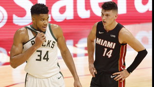 Bucks da record,Heat travolti: okClippers, Warriors e Celtics