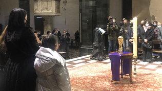 Prato saluta il suo Pablito: in Duomo ceneri in un'urna come Coppa del mondo