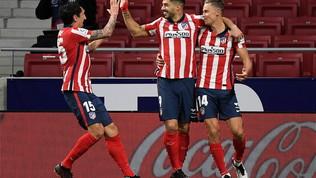 Liga: l'Elche ferma il Real, l'Atletico batte il Getafe con Suarez e vola in testa da solo