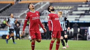 Il Liverpool resta a secco: a Newcastle altro pari e frenata in vetta