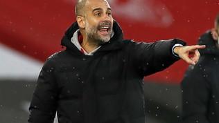 """Guardiola fa la conta: """"Cinque positivi ma col Chelsea si gioca"""""""