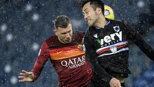 Le foto di Roma-Sampdoria