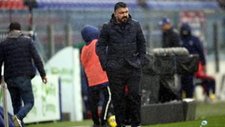 """Gattuso: """"Ci manca il veleno. Osimhen? Deve bollire nel suo brodo"""""""