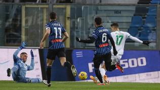 Atalanta-Sassuolo: le foto del match